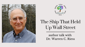 The Ship That Held Up Wall Street: Author Talk with Dr. Warren C. Riess
