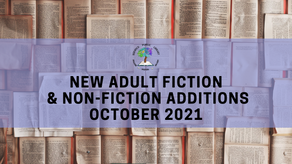 New Adult Fiction and Non-Fiction - October 2021