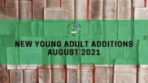 New Young Adult Additions - August 2021