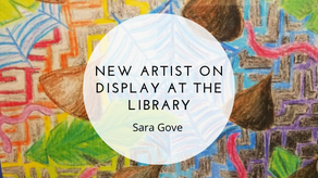 New Artist on Display at the Library