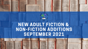 New Adult Fiction and Non-Fiction - September 2021