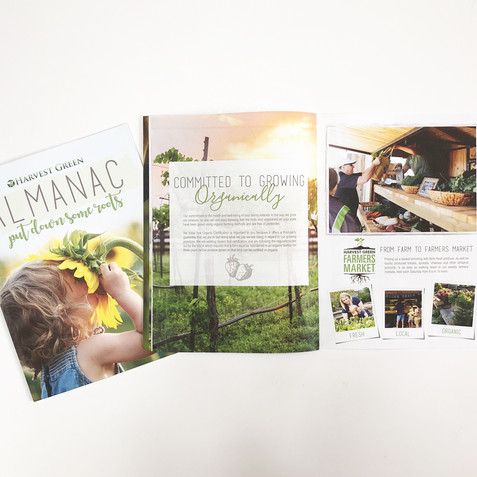 Harvest Green Brochure