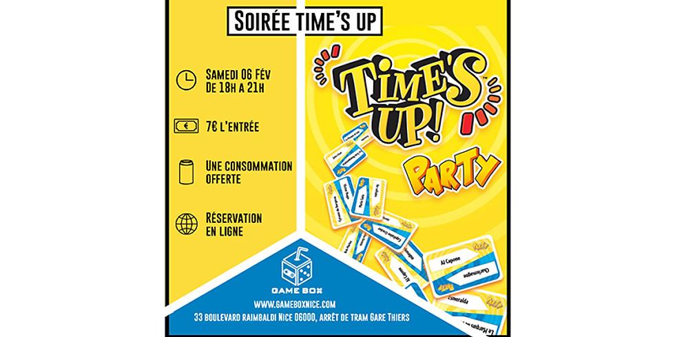 Soirée time's up