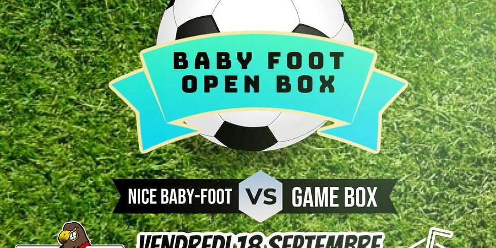 Vendredi 18/09 - BabyFoot à la cool + Open BOX