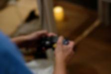 Une manette retro gaming