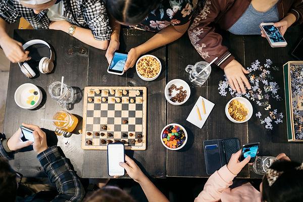 Jeux de société entre amis
