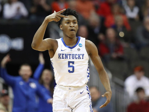 Quickley declares for the draft