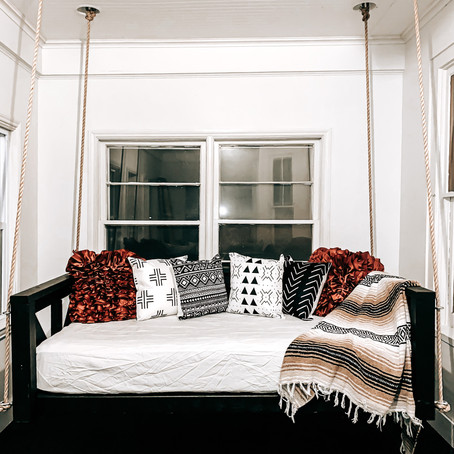 How to Build A Twin Size Bed Swing