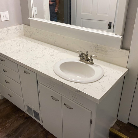 New Countertops On A Budget