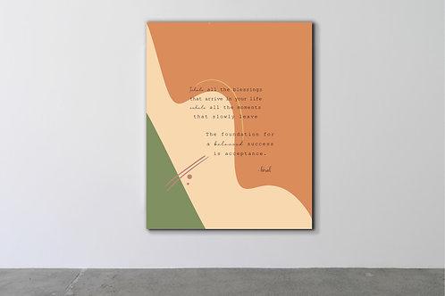 'Balance' Canvas