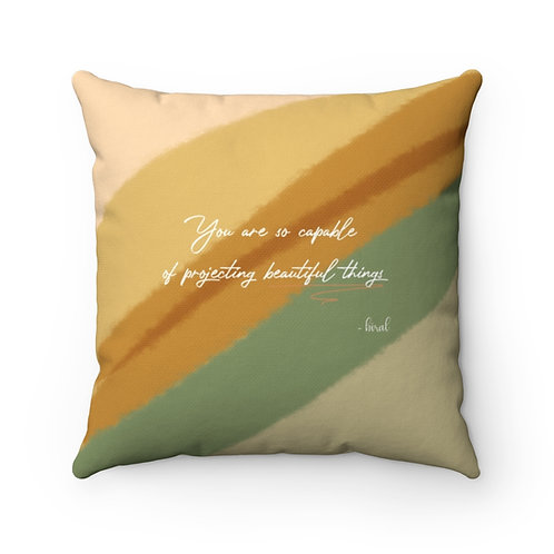 BEAUTIFUL THINGS Small Pillow