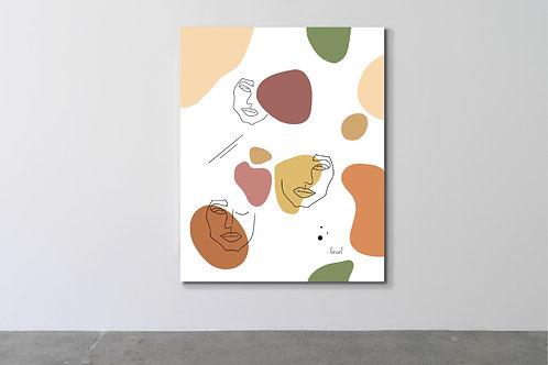 'Colors' Canvas