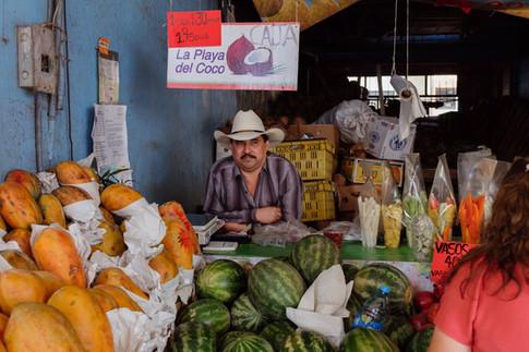 Fruit Vendor, Tijuana 2019