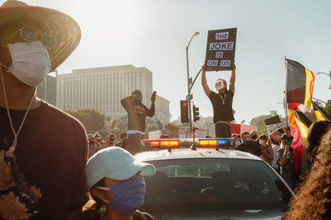 Black Lives Matter March for George Floyd, DTLA 2020