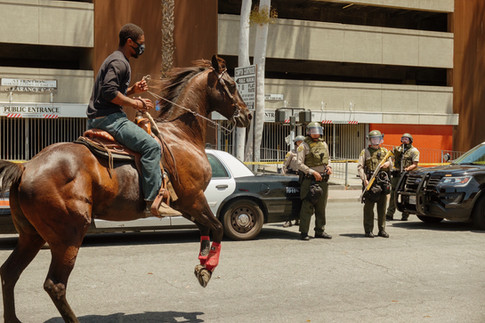 Compton Cowboys Ride for Peace, Compton 2020