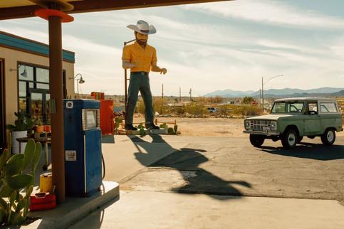 Giant Cowboy, Joshua Tree 2020