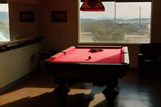 Pool in the desert, Joshua Tree 2020
