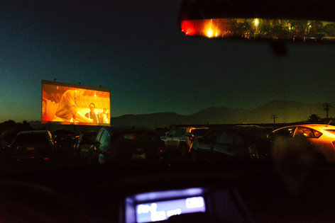 Drive-in during COVID, Montclair 2020