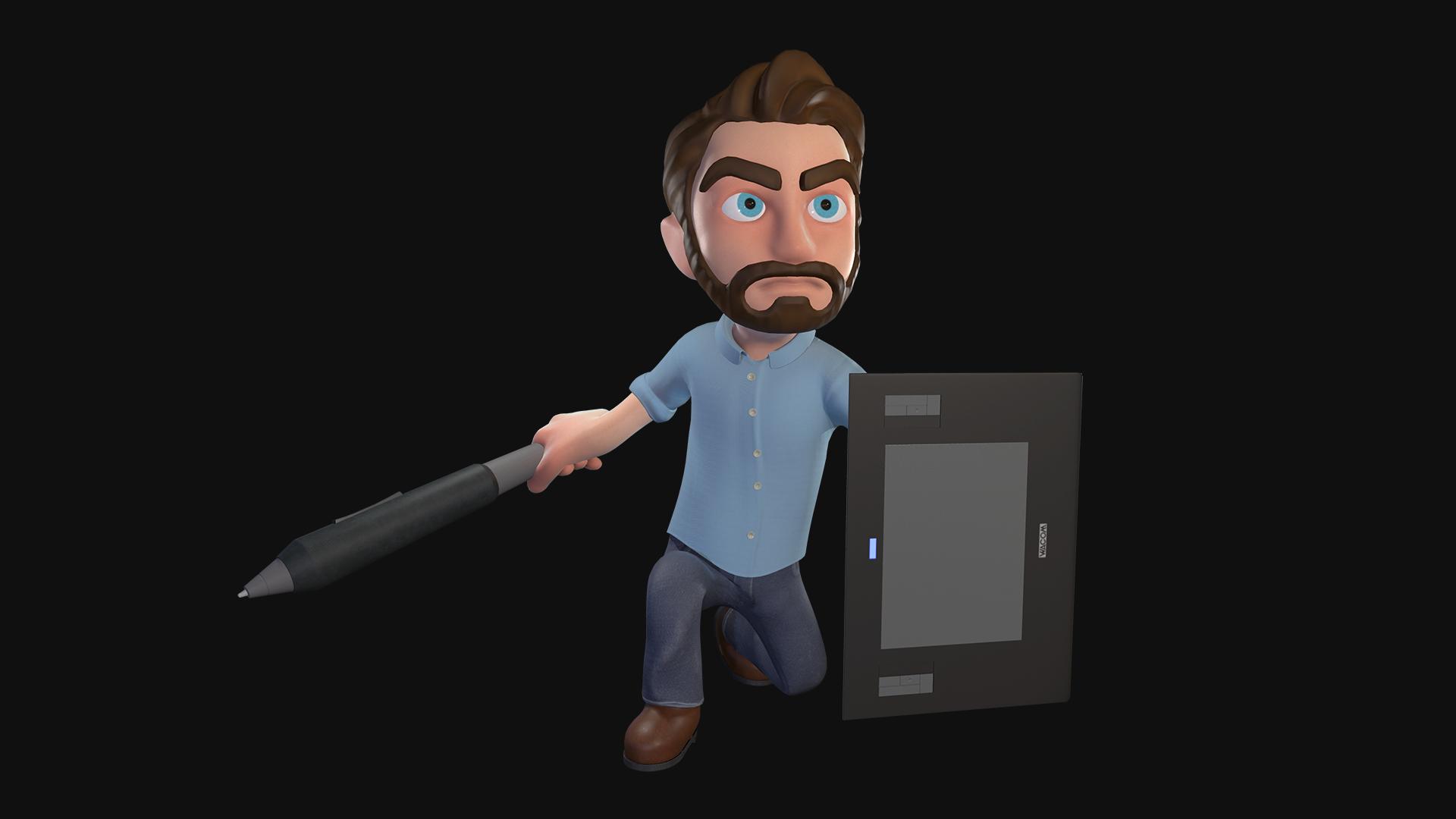 3D Self Portrait