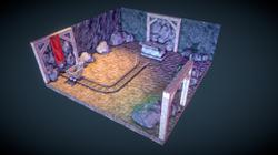 Abandoned Mine Diorama