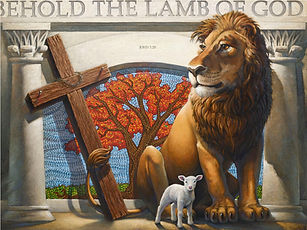 Lion and Lamb by Larry Reinhart_md.jpg