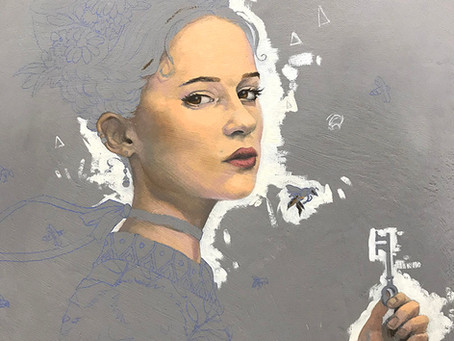 Painting the Queen