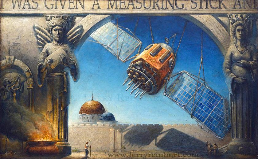 Larry Reinhart's oil painting, RTK.