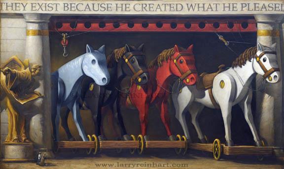 Four Horsemen by Larry Reinhart