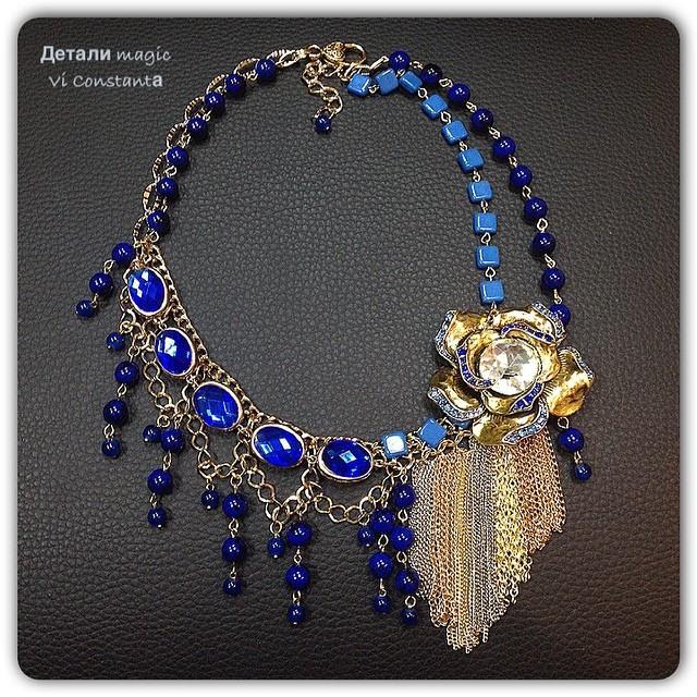 Коллекция Тысяча и одна ночь - натуральные камни, кристаллы, богемское стекло, акрил, литьё, слав