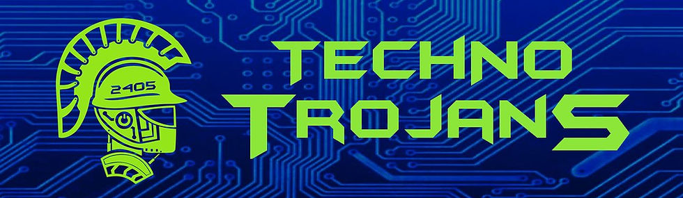 Fruitport robotics techno trojans logo