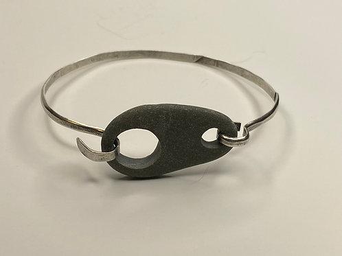 Beach Stone Sterling Bracelet SSCB 05