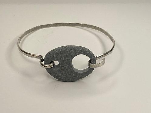 Beach Stone Sterling Bracelet SSCB 03