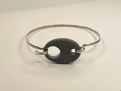Beach Stone Sterling Bracelet SSCB 04