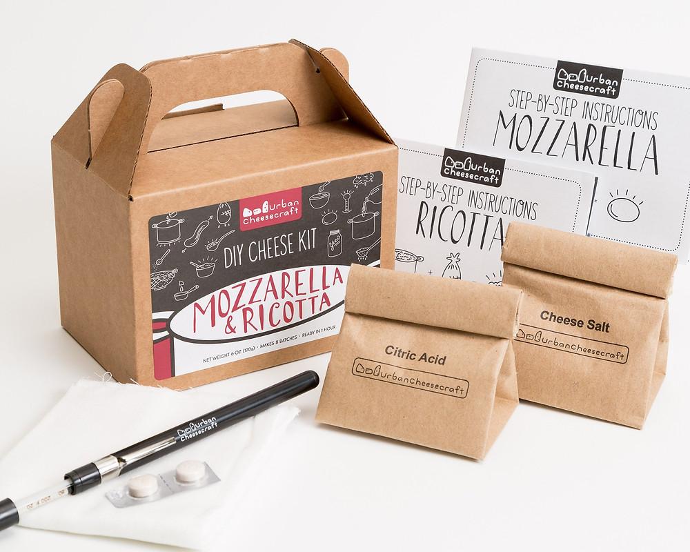 Urban Cheesecraft Mozzarella & Ricotta DIY Cheese Kit