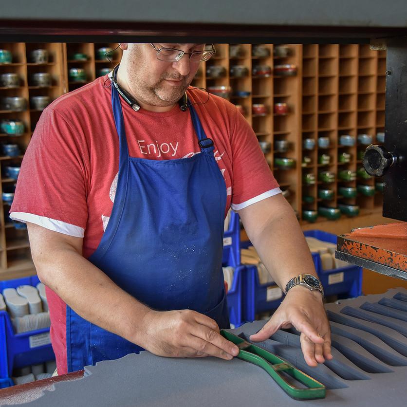 Die Cutting Boot Materials