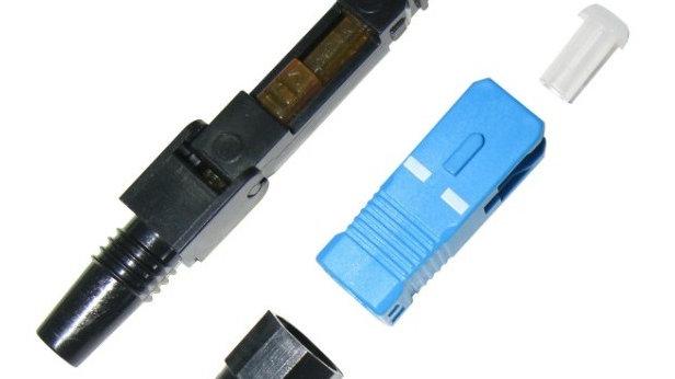 Fiber Optic Connectors (FAOC) (10 pcs = 1 pack) SC/PC 3.0mm made in Korea.