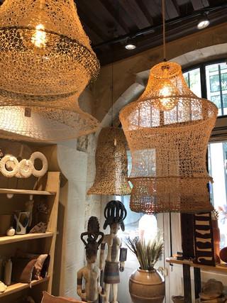Luminaire en boutique 45