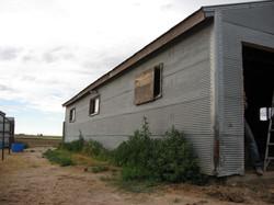 Barn before work began