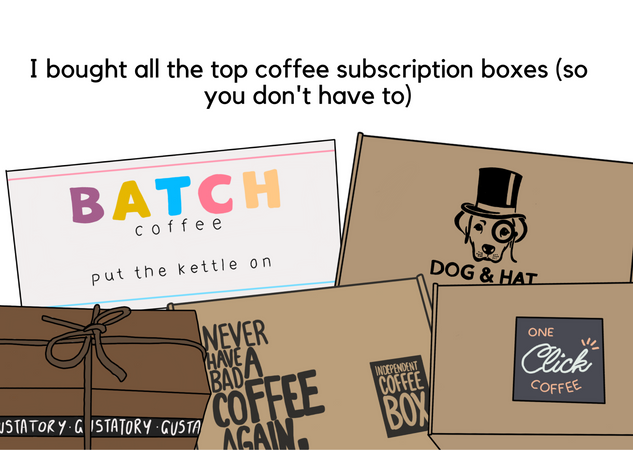 I ordered the top 5 coffee subscription boxes so you don't have to 👀