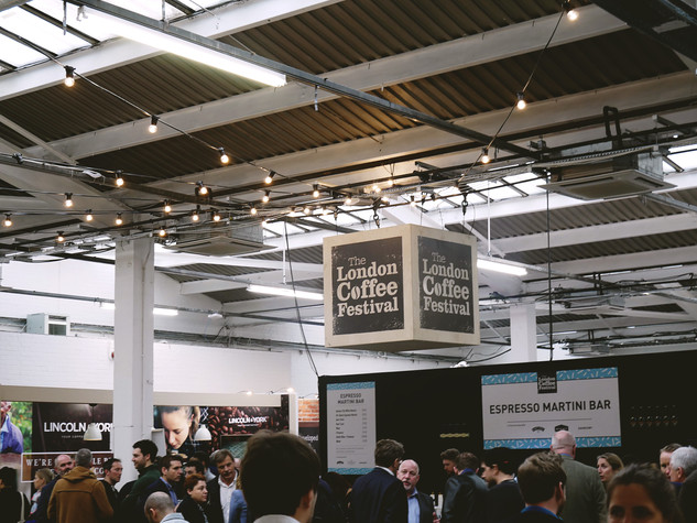 The London Coffee Festival 2018.