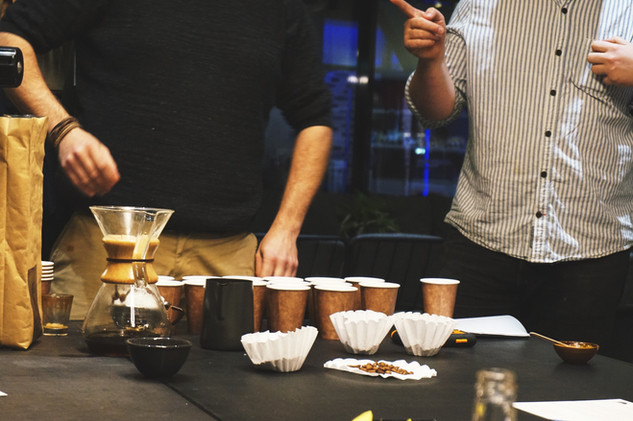 Slow Brew Club x Bumble Coffee Workshop   An Evening Out in Manchester