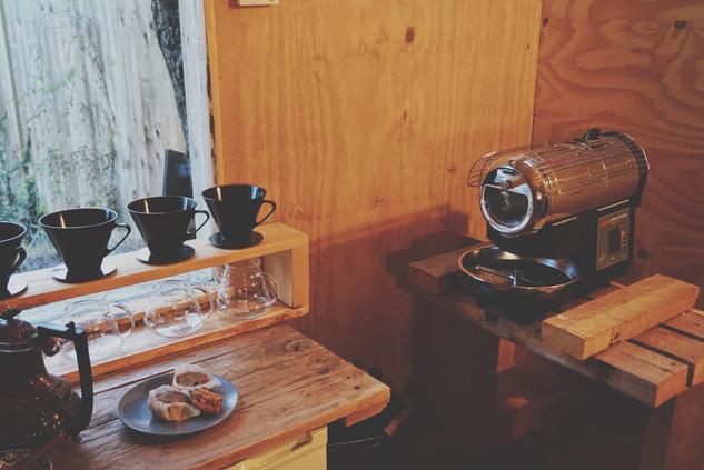 The Labin @ Chimney Fire Coffee.