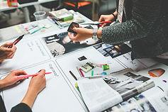 Redaktionellen Gestaltung