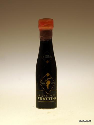 Frattina grappa di cabernet