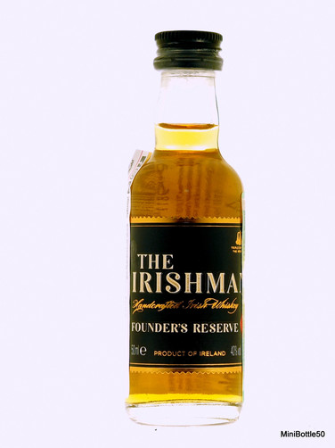 The Irishman Founders Reserve 7Y