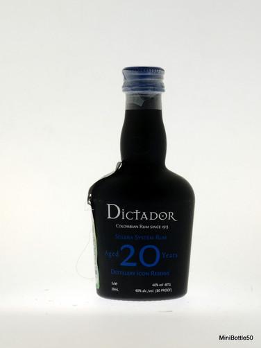 Dictador 20 years Solera System Rum