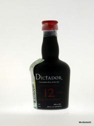 Dictador 12 Years Solera System rum