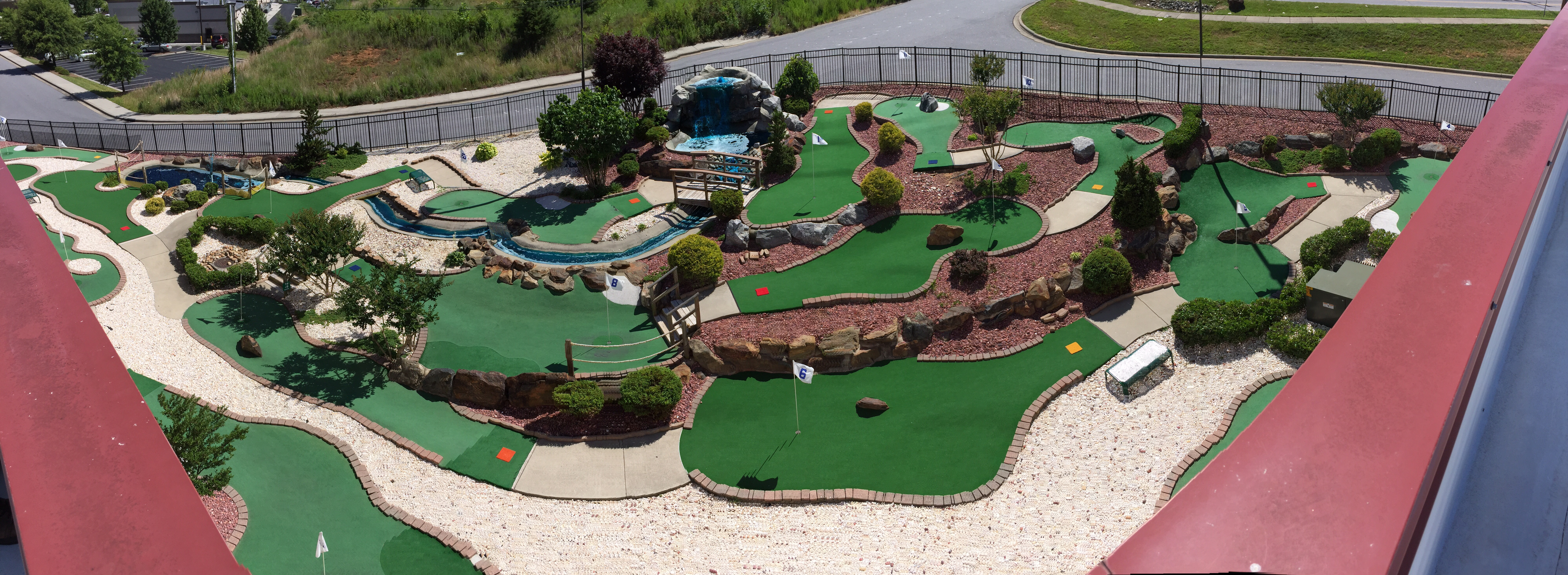 Panoramic of Mini Golf