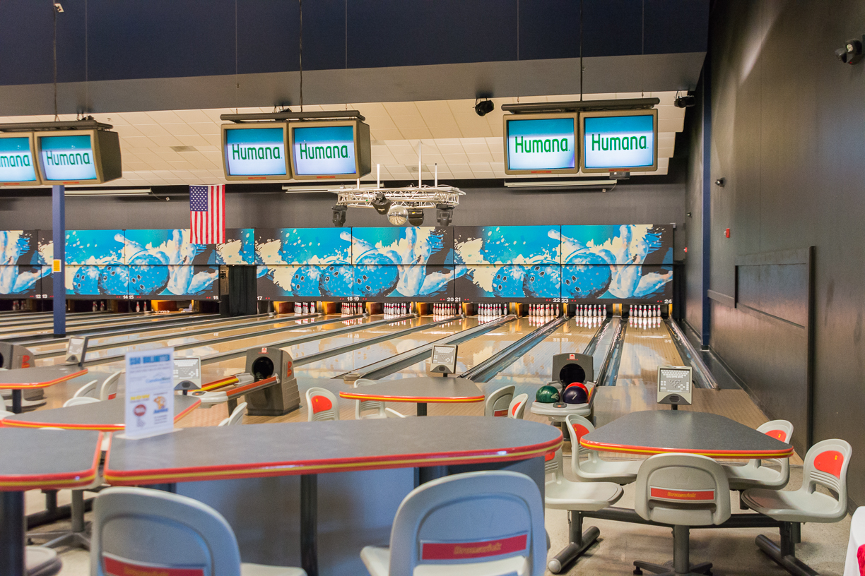 Traditional Bowling Lanes