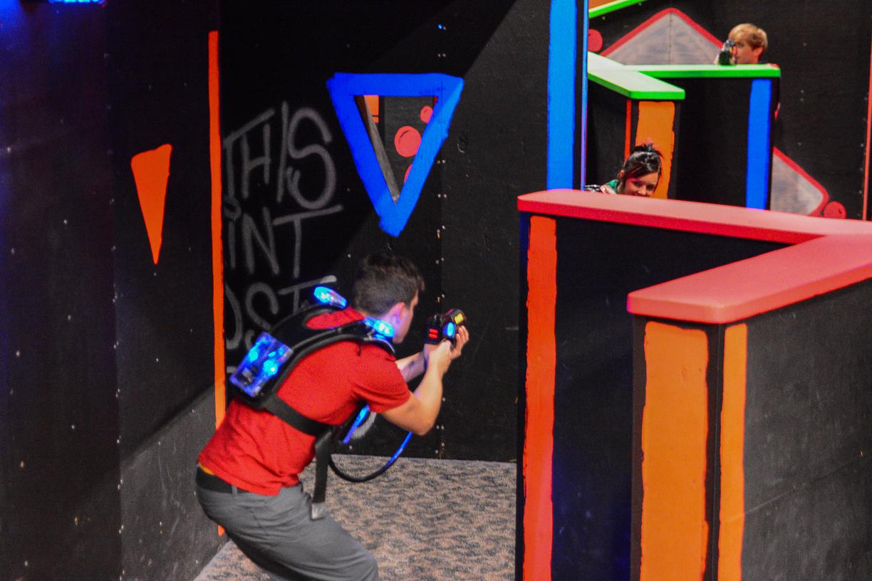 Laser Tag Participants